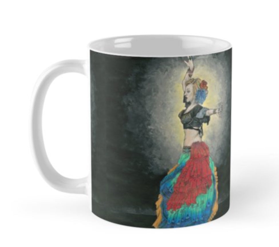 Tribal Dancer Mug - Nora Catherine