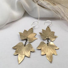 Double Lotus Blossom Earrings - Nora Catherine
