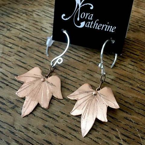 Lg-Sm Lotus Blossom Earrings - Nora Catherine