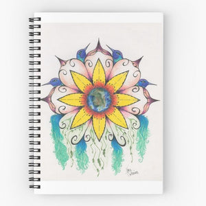 Symphony of Summer spiral notebook - Nora Catherine