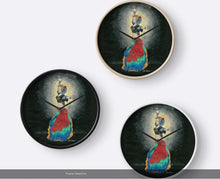 ATS Tribal Belly Dancer Wall Clock - Nora Catherine