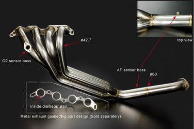 Toyota 4AG (AE86) Exhaust Manifold 4-1 Spec (4-1 SUS)
