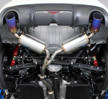 Toyota 86 (FA20) High Power Exhaust System (Twin Silencer)