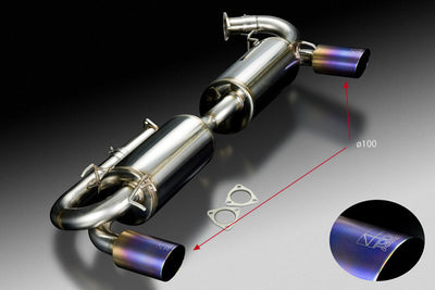 Honda NSX C30A (NA1 / type I) High Power Muffler System