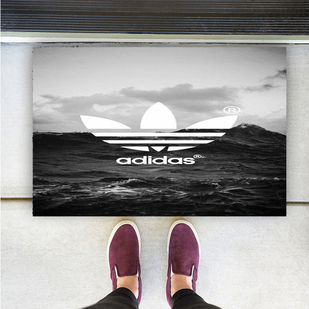 ADIDAS BLACK WHITE SEA IPAD MINI 1 / 2 / 4