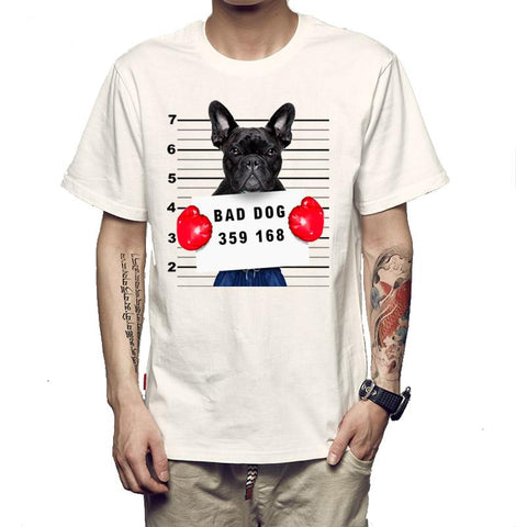 Boxing  French Bulldog Design T Shirt - Dog Lover