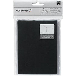 A2 Black Cards And Envelopes American Crafts
