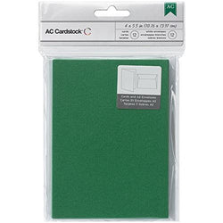 A2 Evergreen Cards And Envelopes American Crafts
