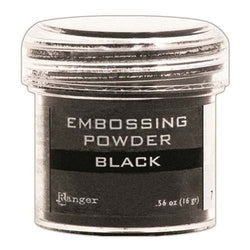 Black Embossing Powder Ranger Ink