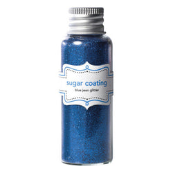 Blue Jean Sugar Coating Glitter Doodlebug Design