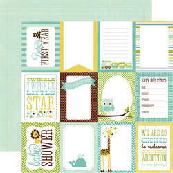 Boy Journaling Cards Bundle Of Joy