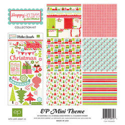 Happy Holidays Collection Echo Park Paper