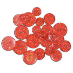 Glitter Red Glimmer Buttons Favorite Findings