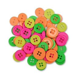 Neon Buttons Favorite Findings