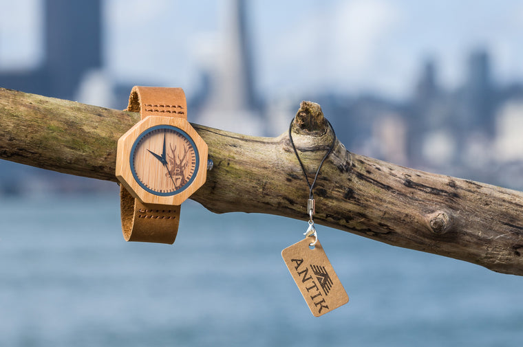 Luanda - Women's Wooden Watch