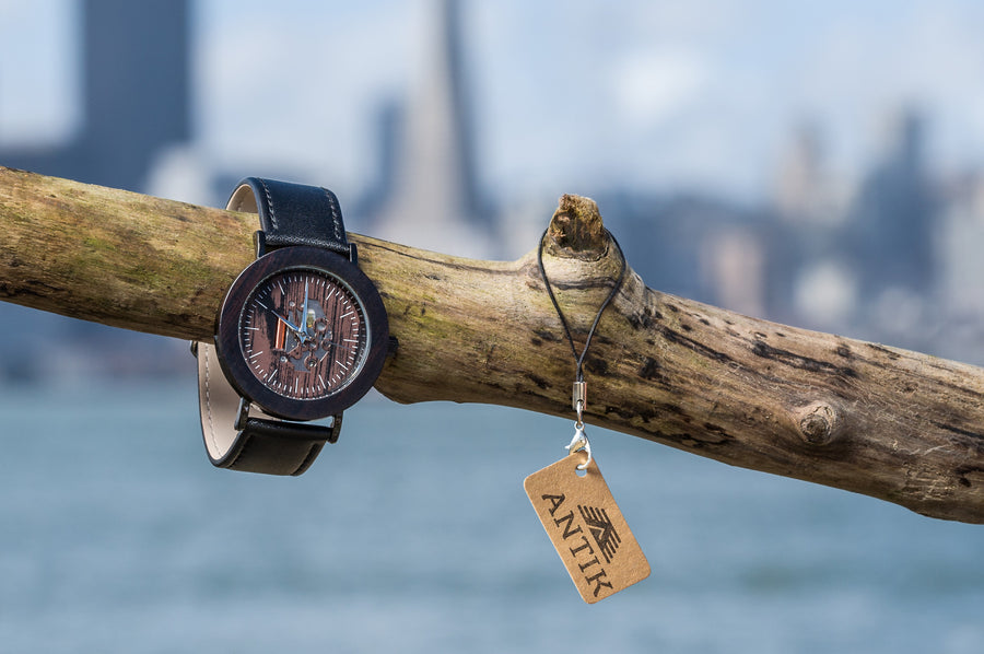 Casablanca - Unisex Wooden Watch