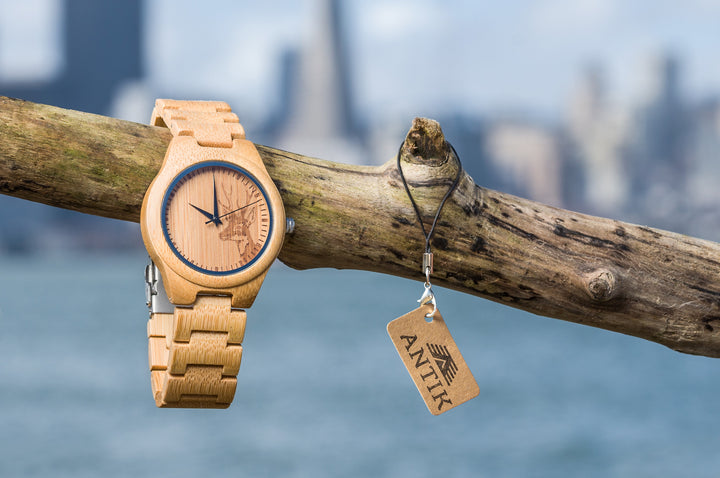 Abuja - Men's Wooden Watch