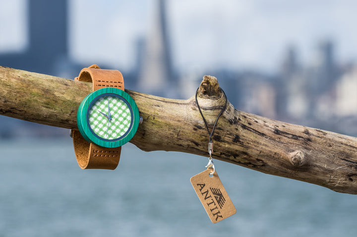Lusaka - Women's Wooden Watch