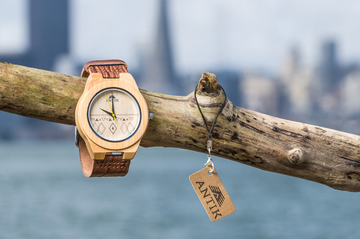 Monrovia - Men's Wooden Watch