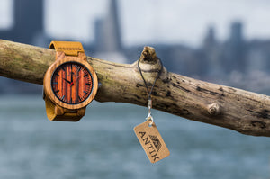 Kinshasa - Men's Wooden Watch