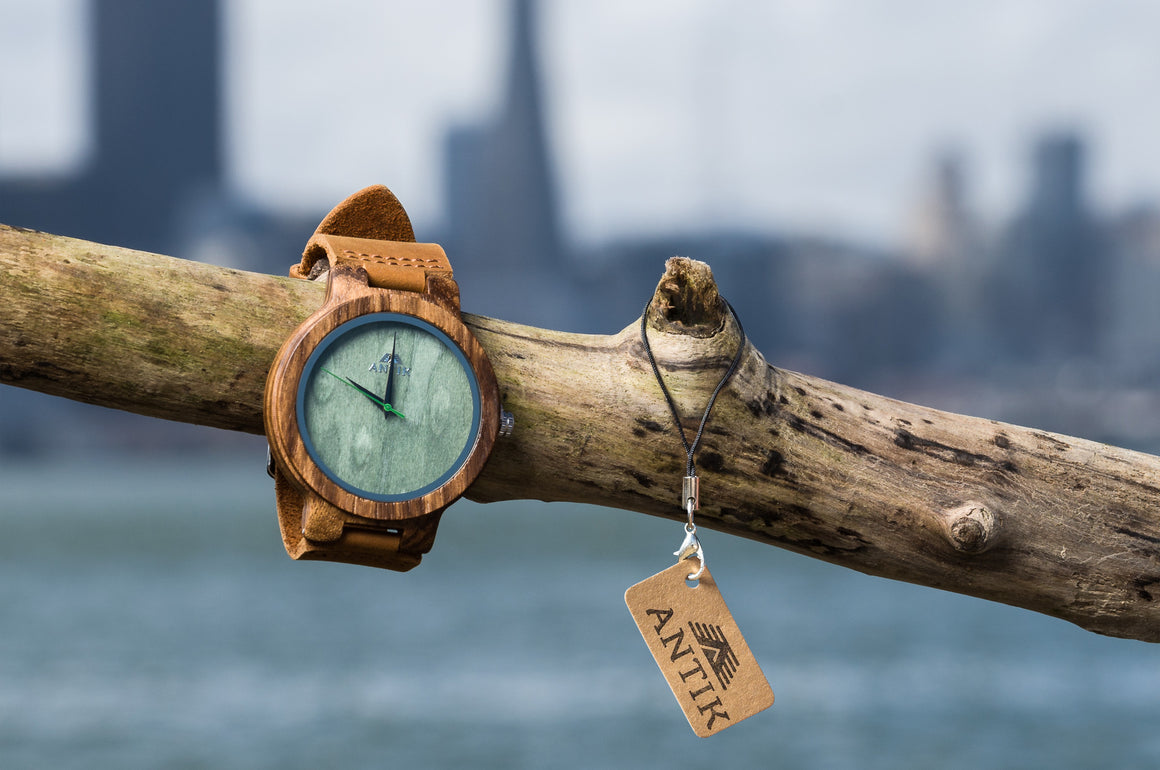 Zaire - Men's Wooden Watch