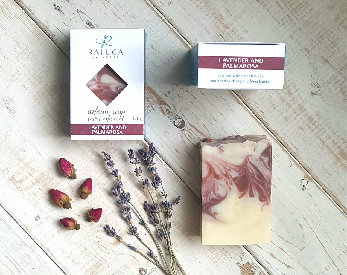 Lavender and Palmarosa - Artisan Soap