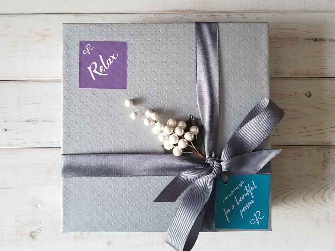 Relax - holiday gift set