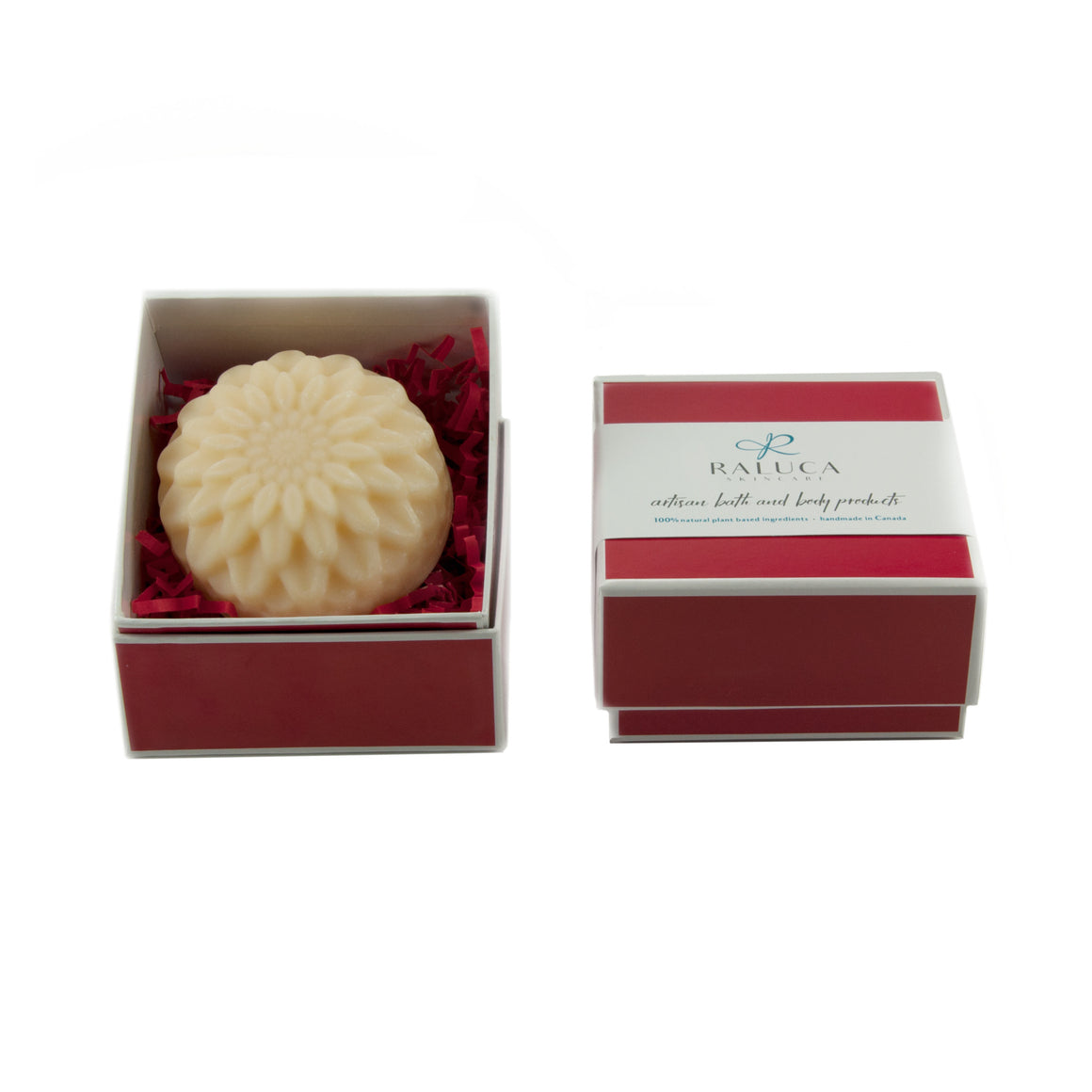 Raluca Skincare - Blossom Artisan Soap Set - White Chrysanthemum - flower shaped soap