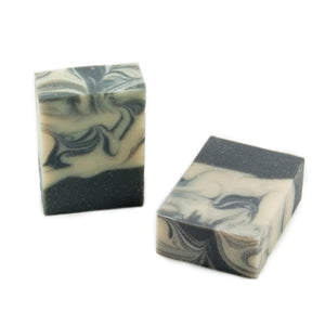 Charcoal and tea trea oil - Artisan soap