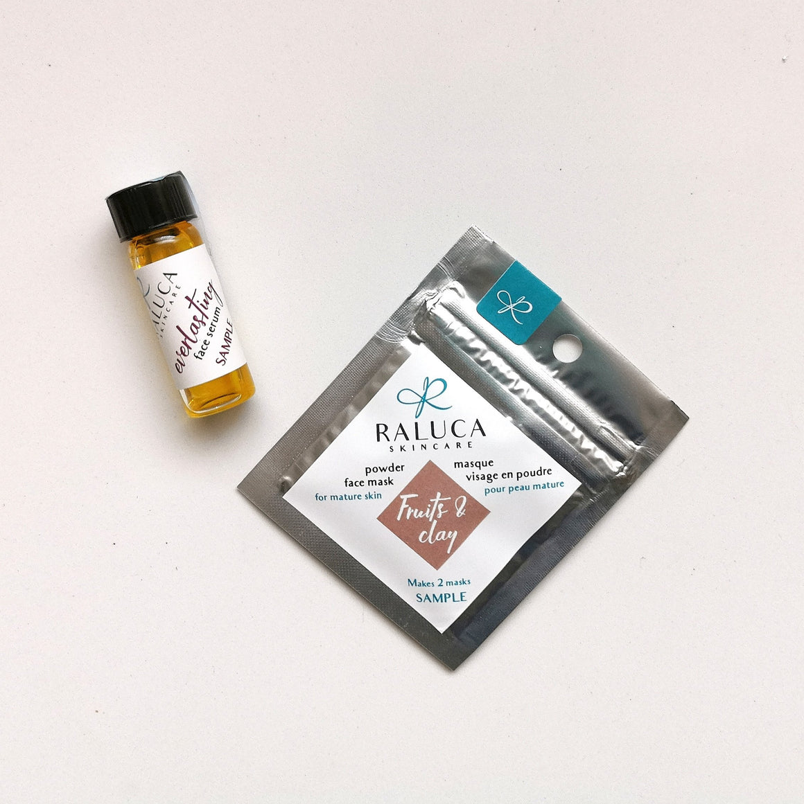 Raluca Skincare - mini beauty kit - for dry or mature skin