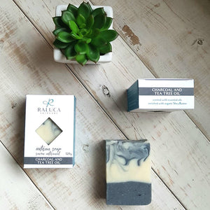 Charcoal and Tea Tree Oil - Artisan Soap