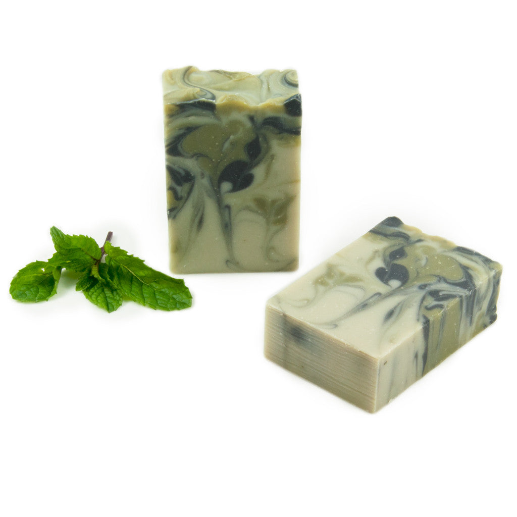 Raluca SKincare - Artisan Soap - Mint and Eucalyptus