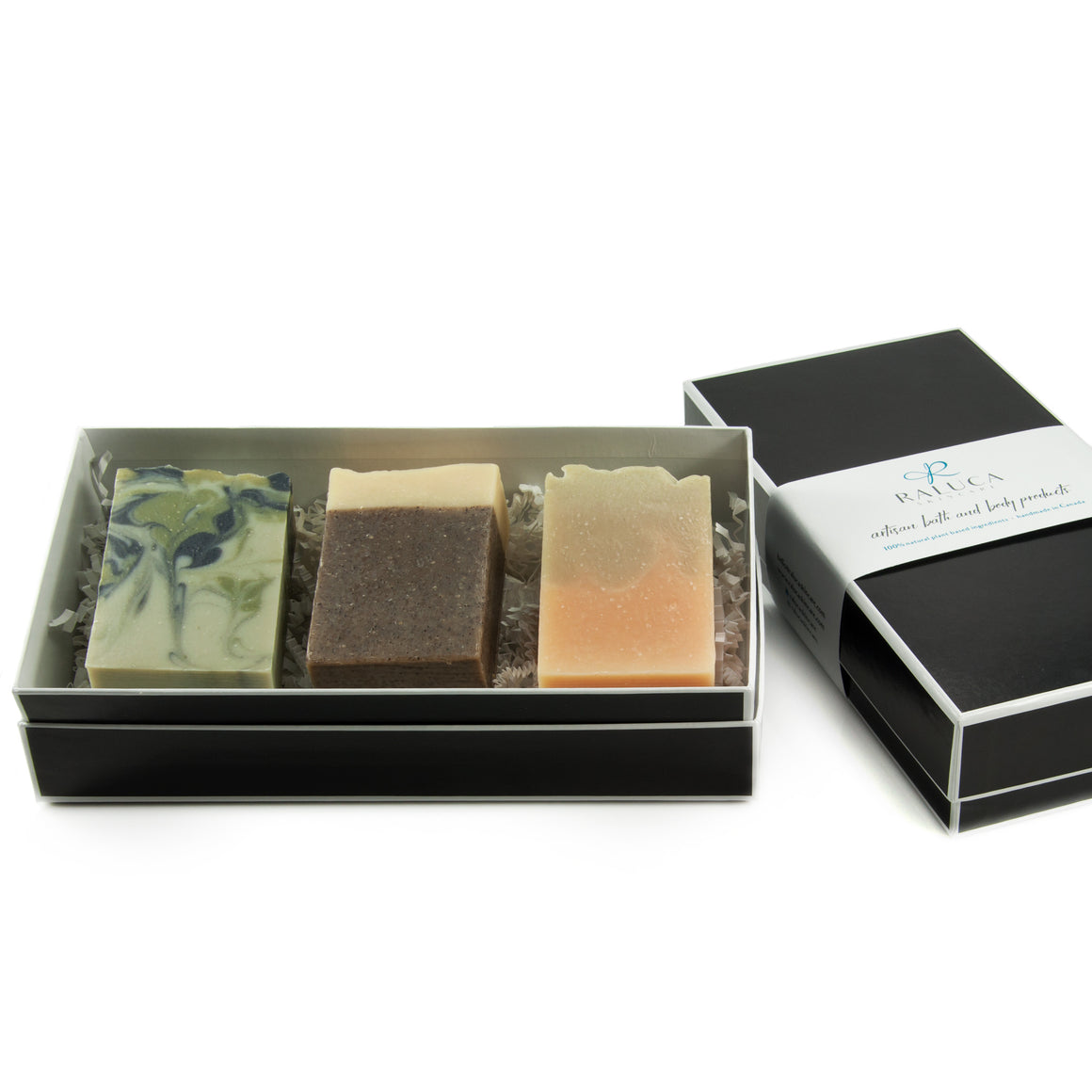 Raluca Skincare - Revive Artisan Soap Set - Three artisan soaps