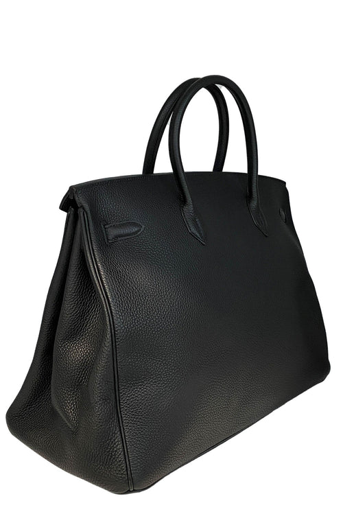 HERMÈS Birkin 40 Togo Leather Black
