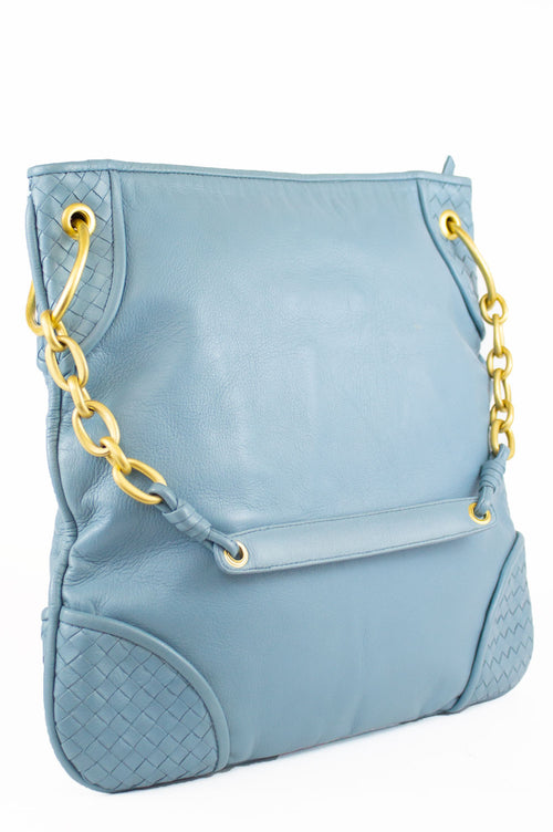 BOTTEGA VENETA Shoulder Bag Light Blue