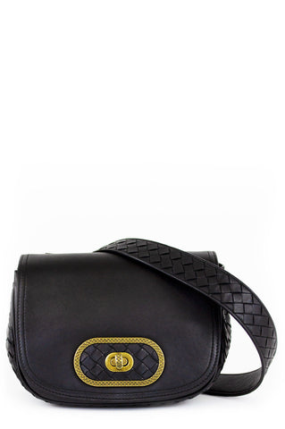CHANEL Vintage Crossbody Flap Bag & Wallet Black