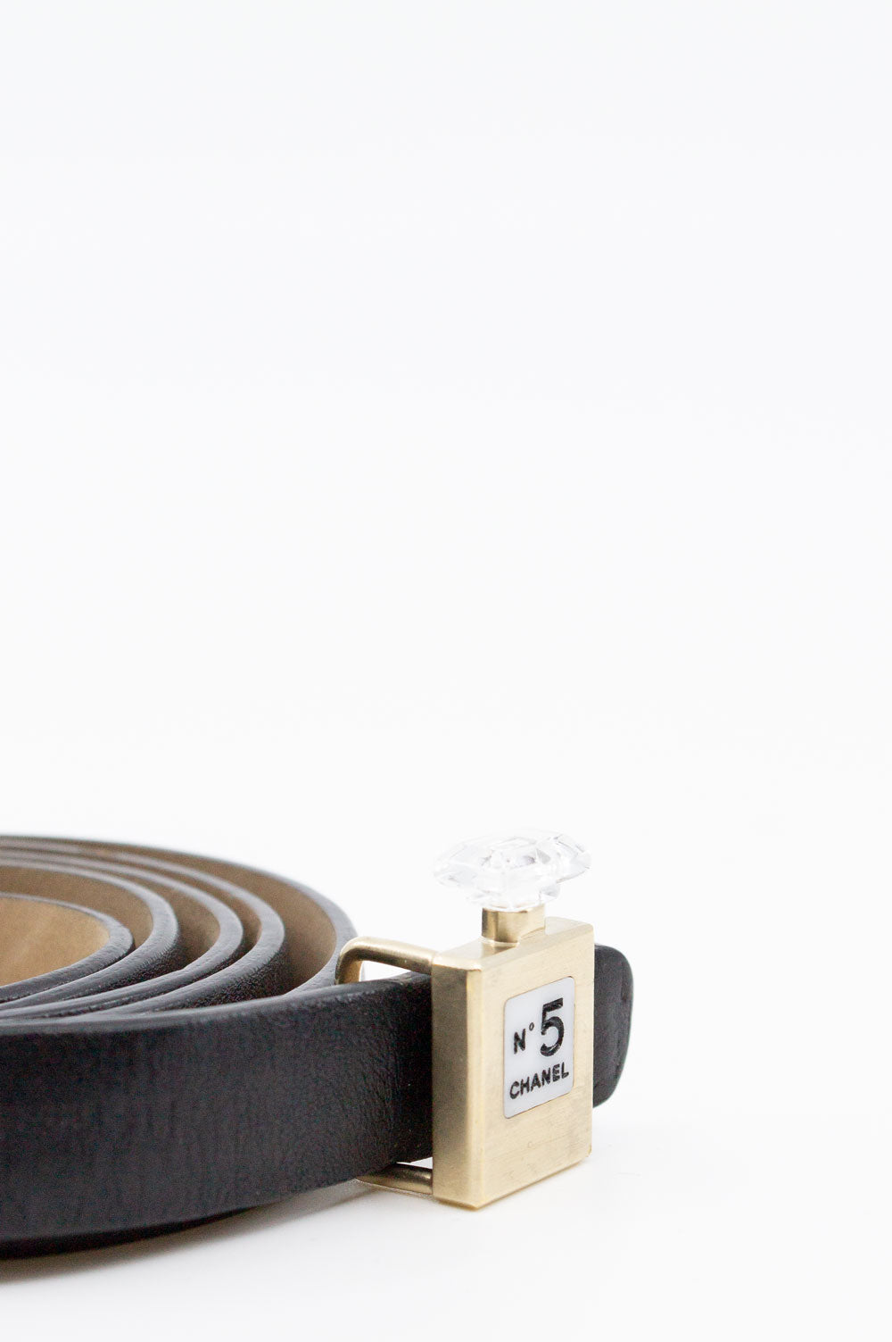 CHANEL No 5 Leather Belt
