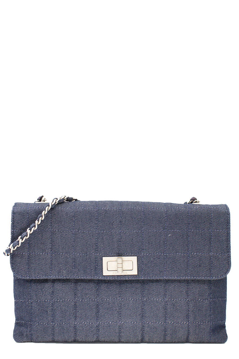 CHANEL Chocolate Bar Denim Bag