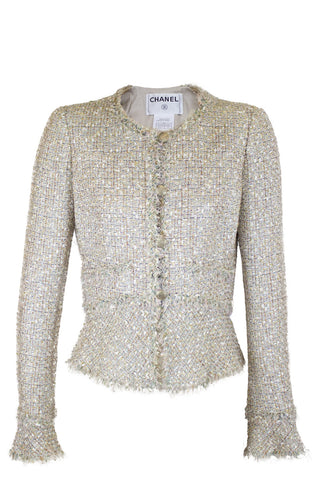 VALENTINO Embellished Leather Jacket
