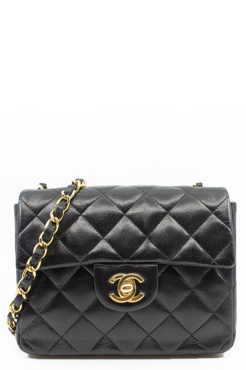 CHANEL Mini Flap Bag Frontalansicht