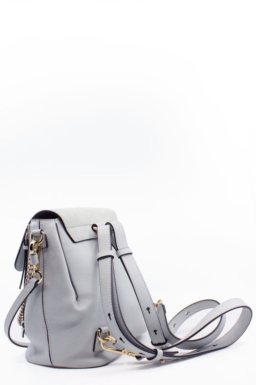 CHLOÉ Faye Backpack Airy Grey