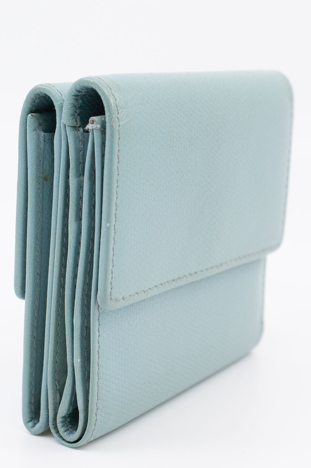CHANEL Wallet Baby Blue