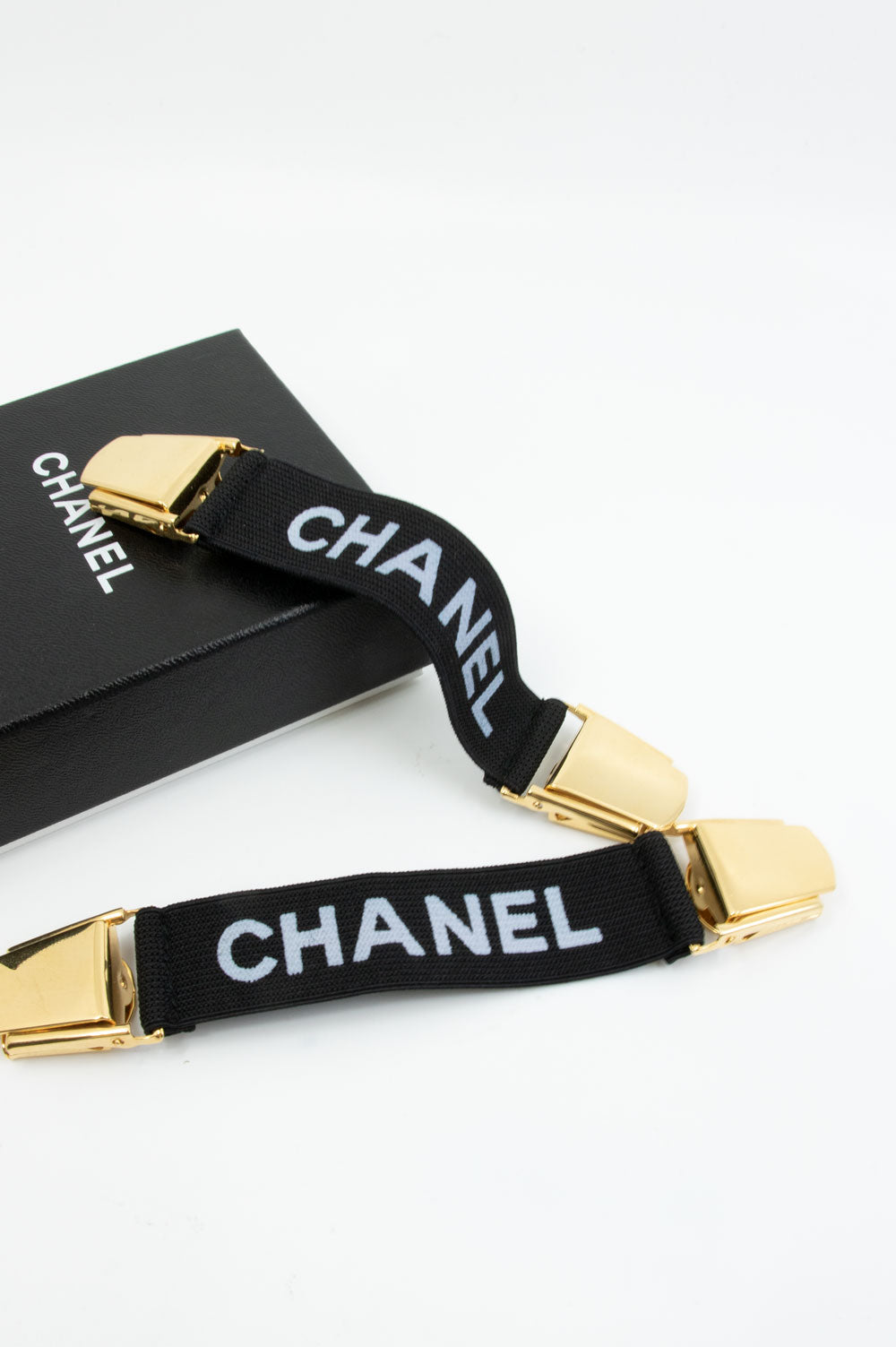 CHANEL Vintage  Suspenders
