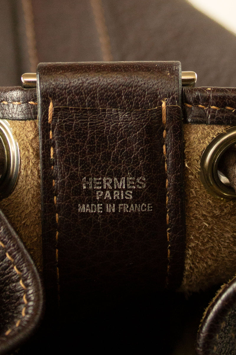 HERMÈS Bucket Bag Special Edition
