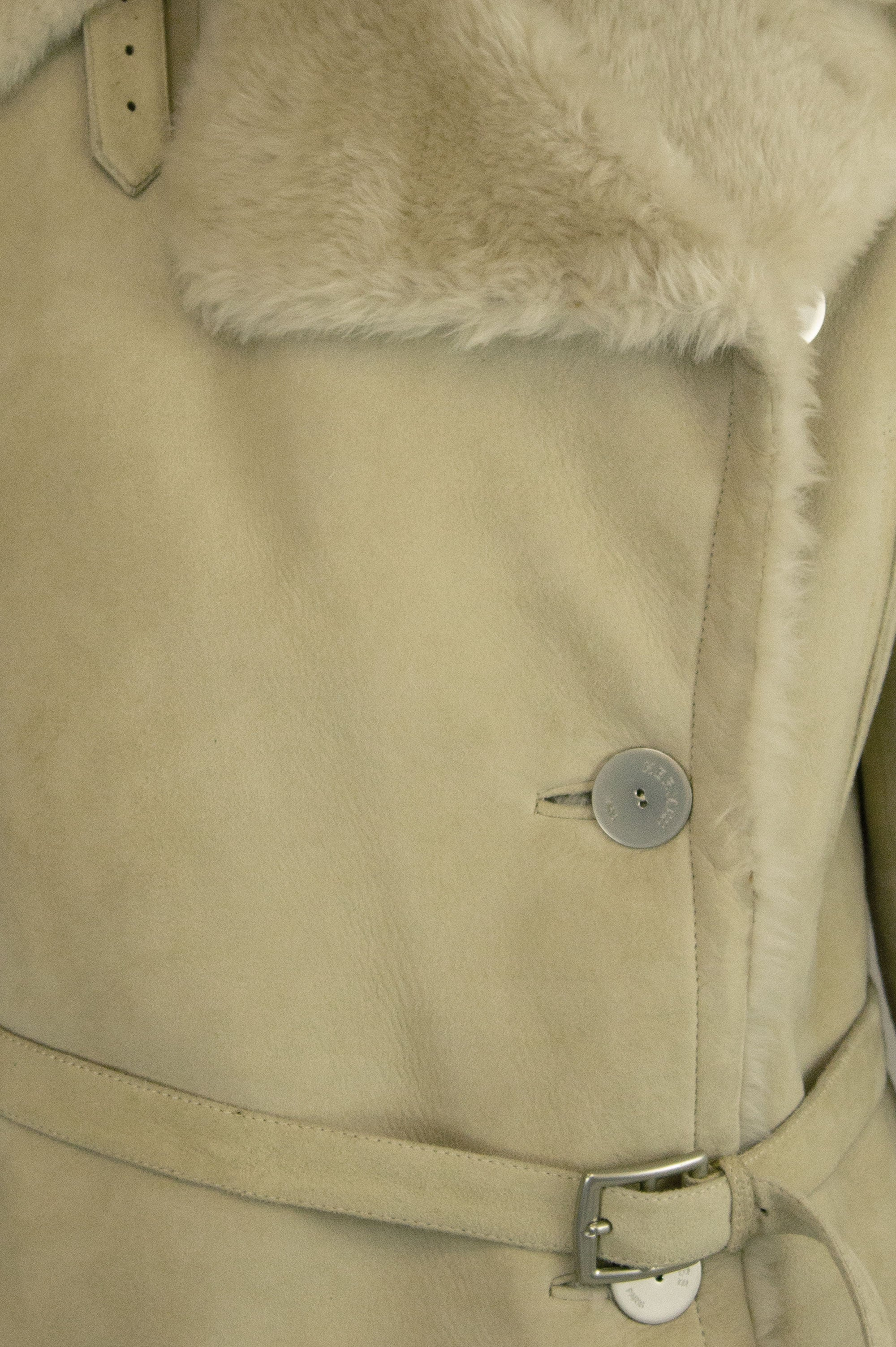 HERMÈS Shearling Jacket