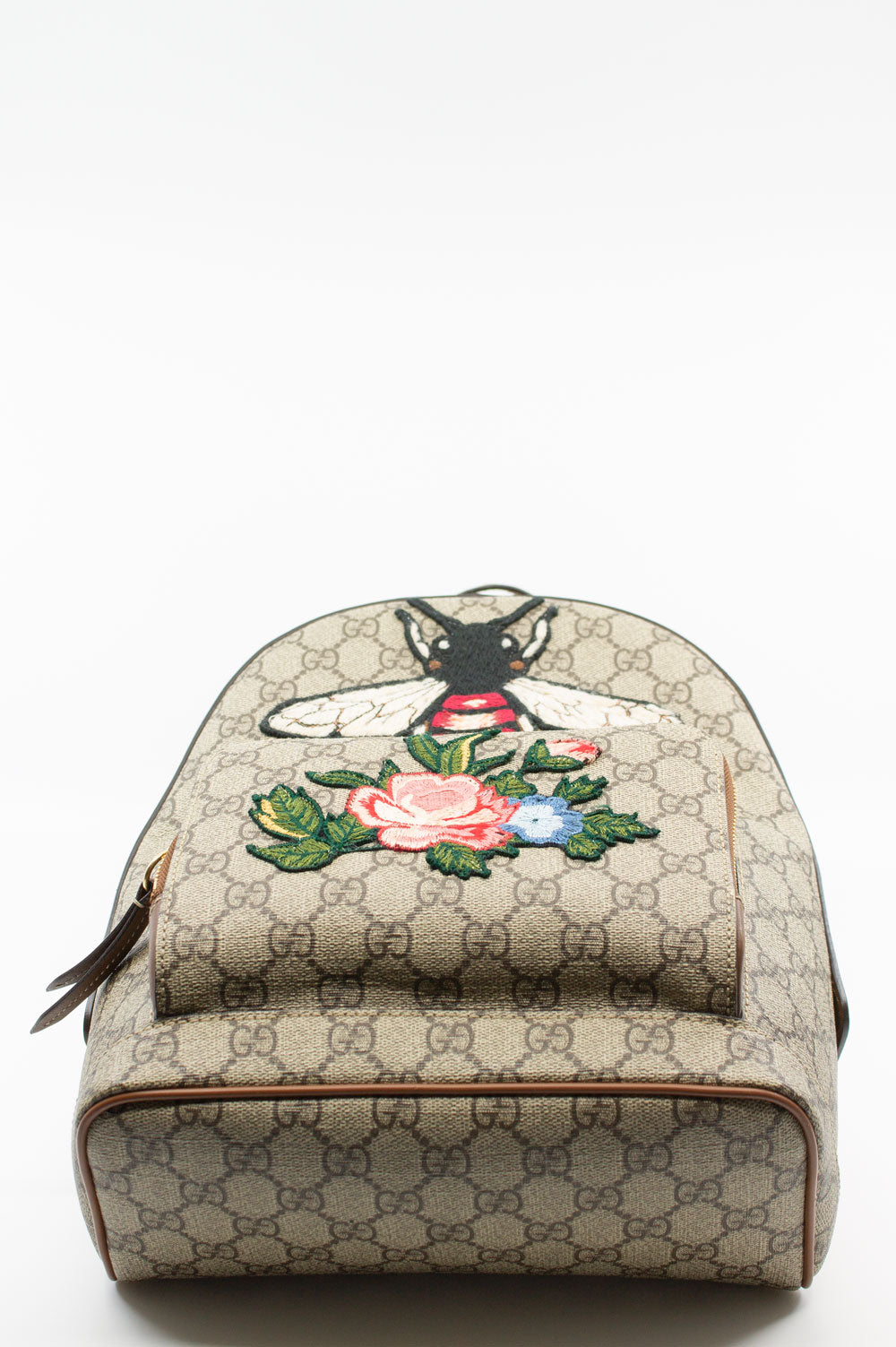 GUCCI GG Supreme Bee Backpack