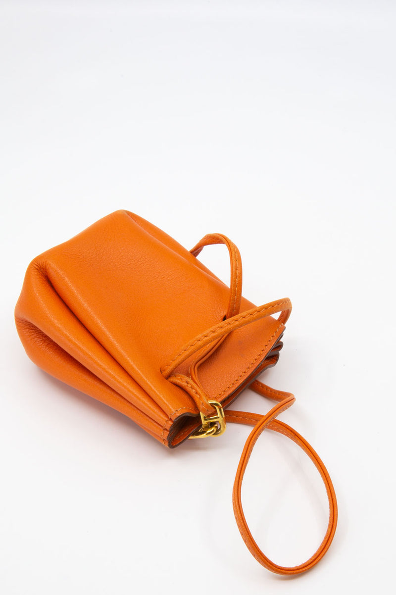 Hermès Mini Vespa Pochette in Orange