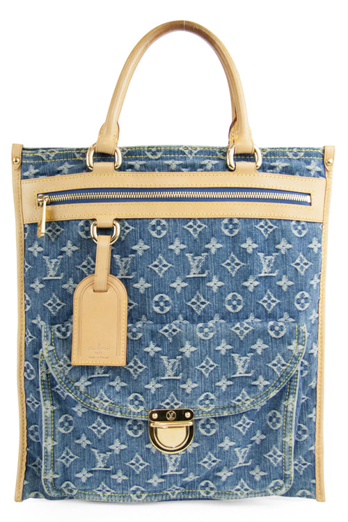 Summer Sale Treasure Nr. 2 - LOUIS VUITTON Denim Tasche
