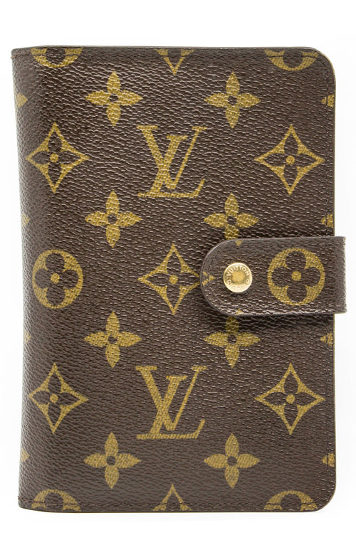 Louis Vuitton Wallet Monogram Frontalansicht