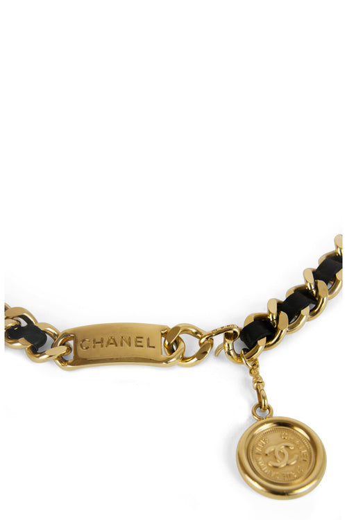 CHANEL Vintage Chain Belt